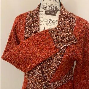 BKE Sweaters - Bogo-BKE crochet sweater- Large